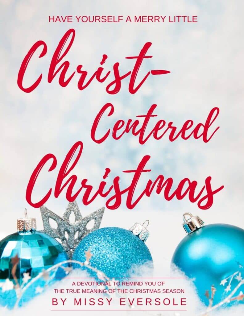 2020 Christmas Devotional Front Cover- Missy Eversole